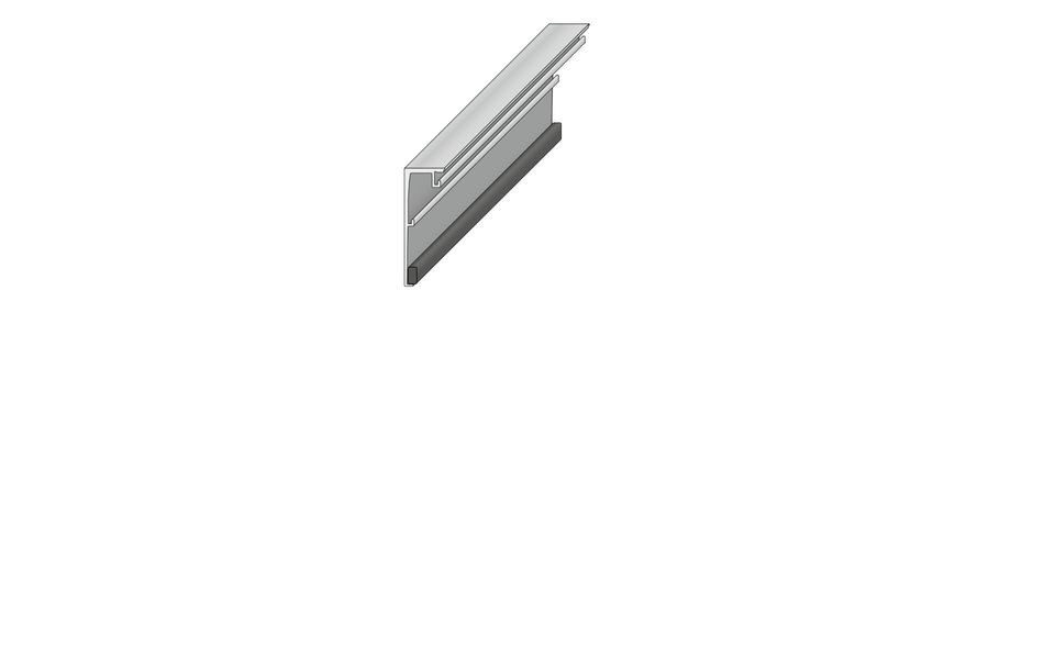 Plafondhoge beglazing Balardo Glasswall van GLASSLINE - Montage-Step 2
