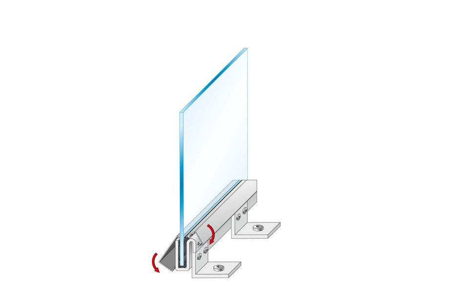 Montageanleitung Glasgeländer Balardo Steel Step 8