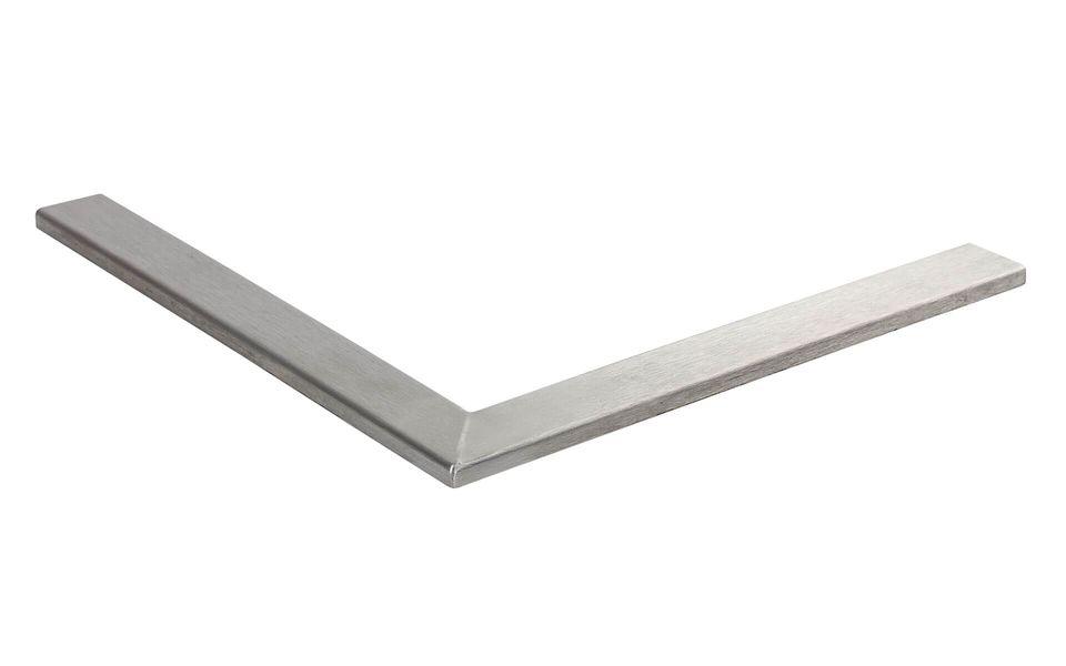 Glassline Ganzglasgeländer BALARDO core hd 90° ECKE AUSSENMASS 200 x 200 mm