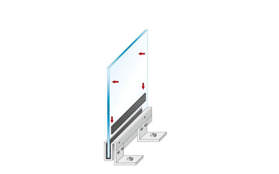 Montageanleitung Glasgeländer Balardo Steel Step 6