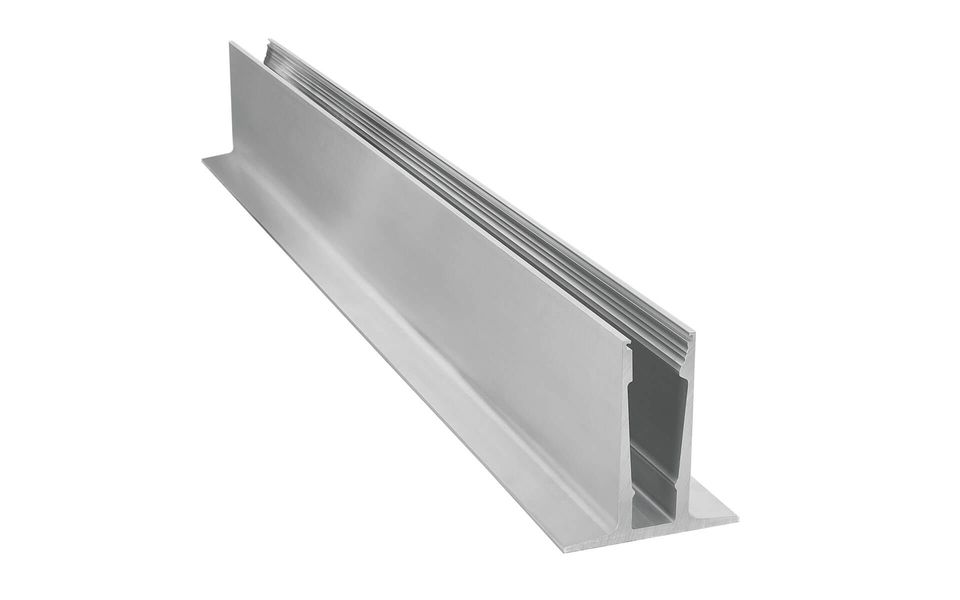 Glass railing Balardo core system profile 2