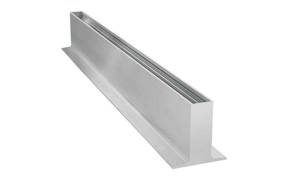 Wind- und Sichtschutz Davento von Glassline - Bodenprofil