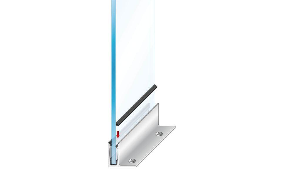 Plafondhoge beglazing Balardo Glasswall van GLASSLINE - Montage-Step 9