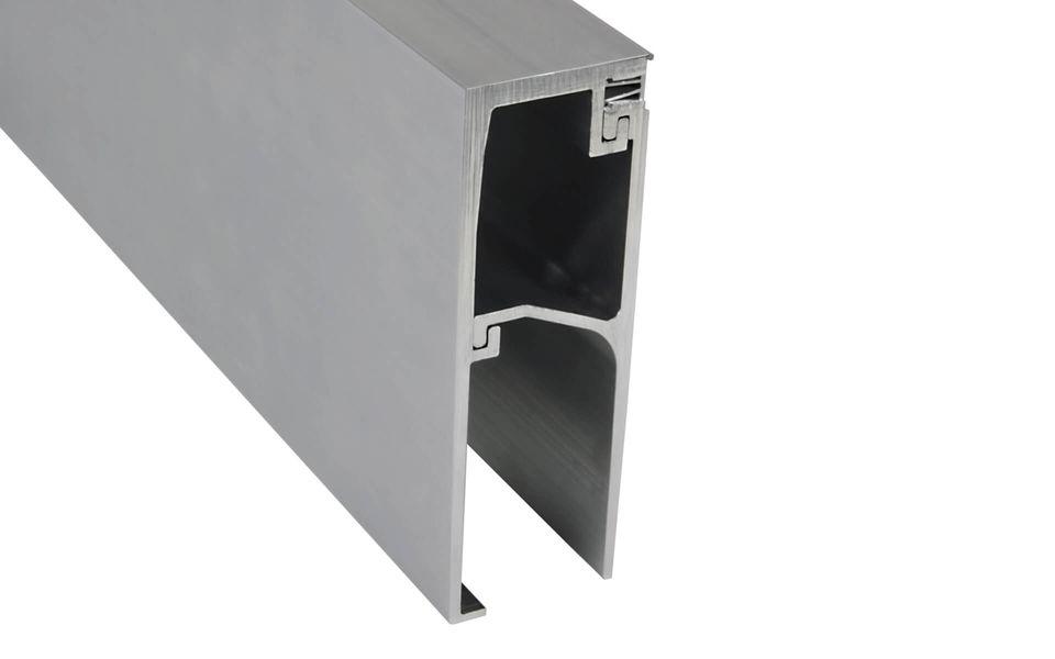 Raumhohe Verglasung Balardo Alu Glasswall von Glassline - Systemprofil UP 1