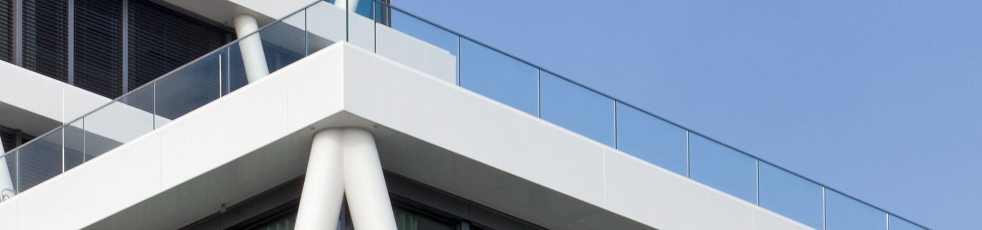 Glasgeländer Balardo core - Refereznzbau