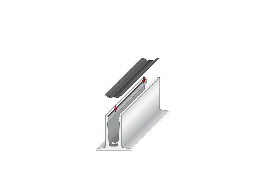 Wind- und Sichtschutz Davento von Glassline - Montage-Step 3