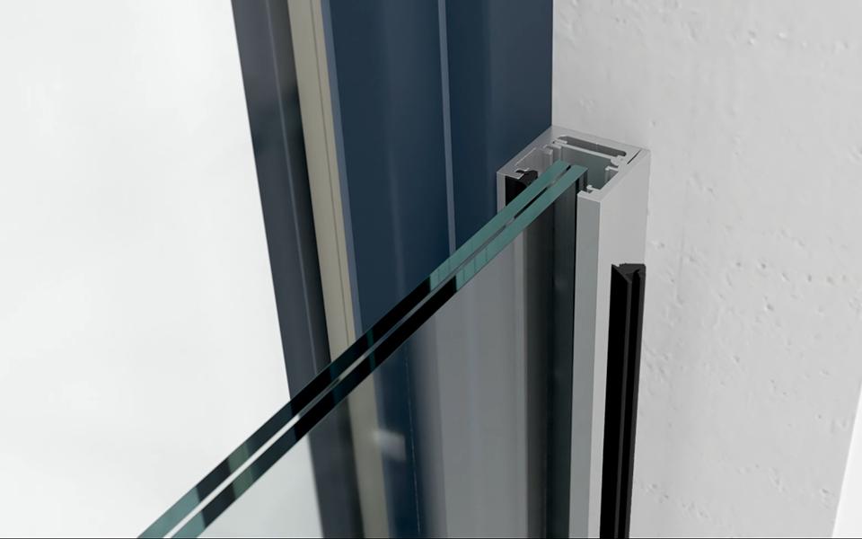 Glassline Französischer Balkon Absturzsicherung BALMERO - Montagevideo