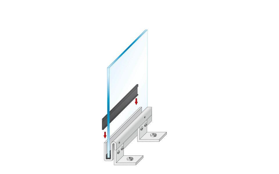 Montageanleitung Glasgeländer Balardo Steel Step 5