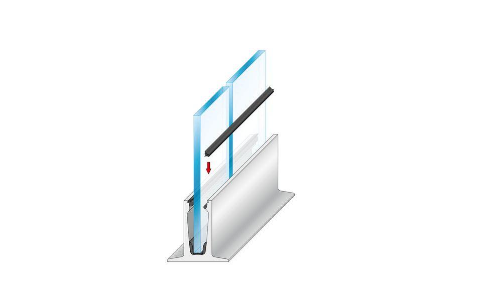 Wind- und Sichtschutz Davento von Glassline - Montage-Step 7