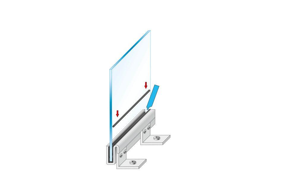 Montageanleitung Glasgeländer Balardo Steel Step 7