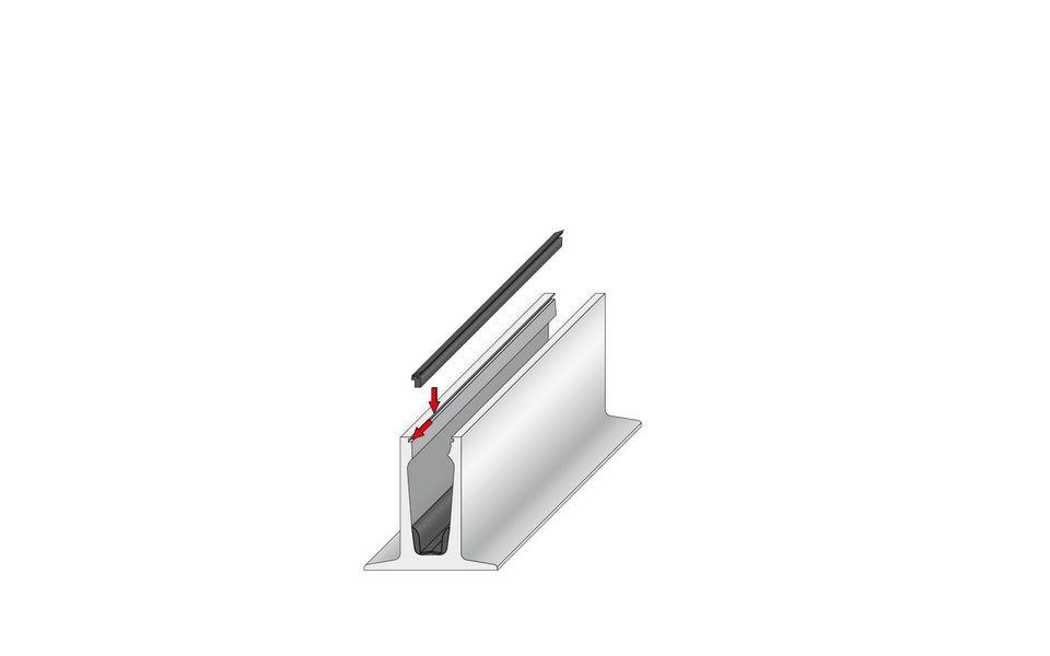 Wind- und Sichtschutz Davento von Glassline - Montage-Step 4