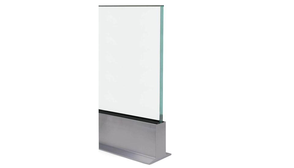 Glasgeländer Balardo core HD Profil
