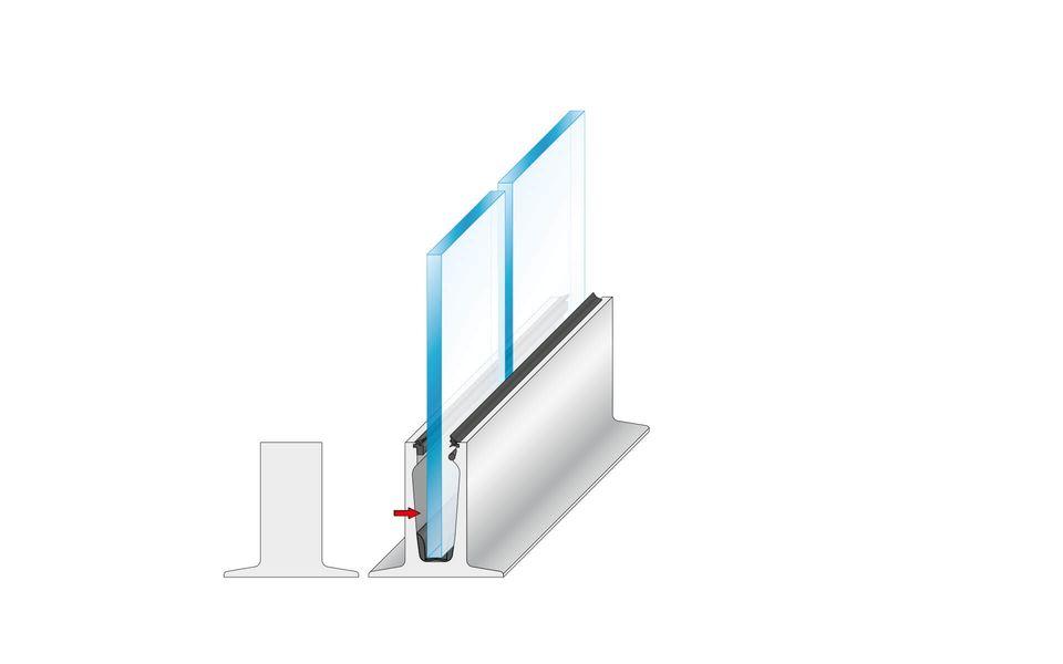 Wind- und Sichtschutz Davento von Glassline - Montage-Step 8