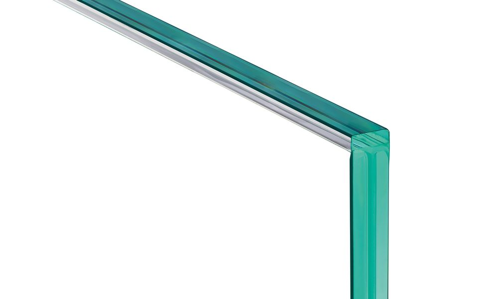 Glassline Ganzglasgeländer BALARDO hybrid - Glaskantenschutz