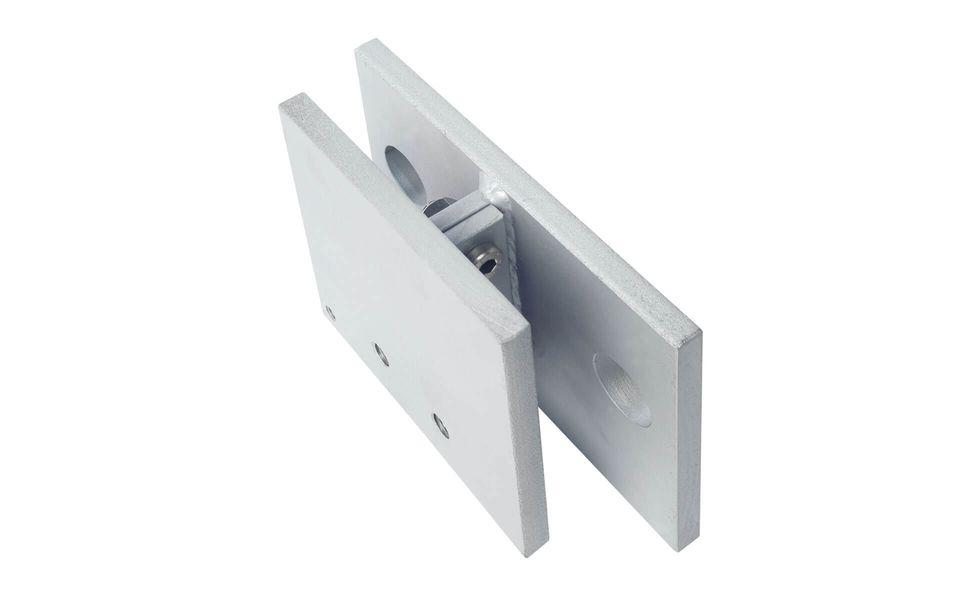 Glasgeländer Balardo Steel Glassline Bauanschlusselement 5 mit Blendset