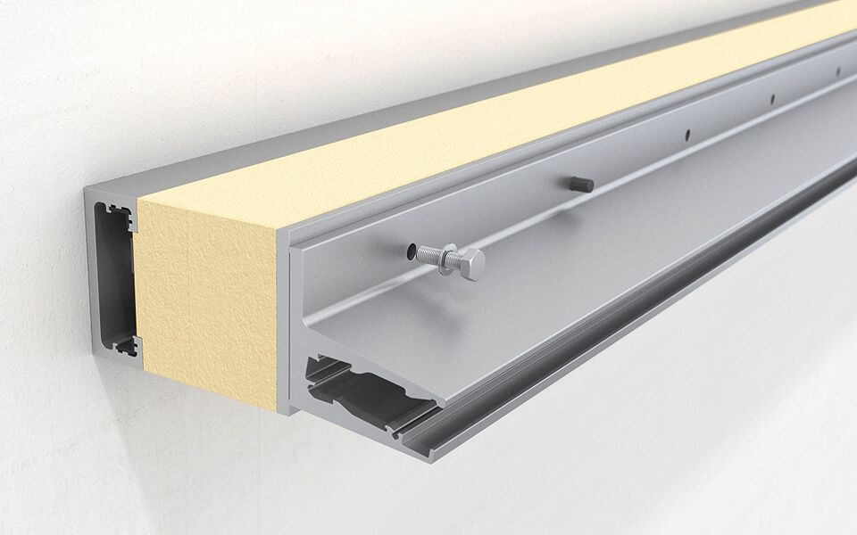 Montagevideo Lineare Anbindung