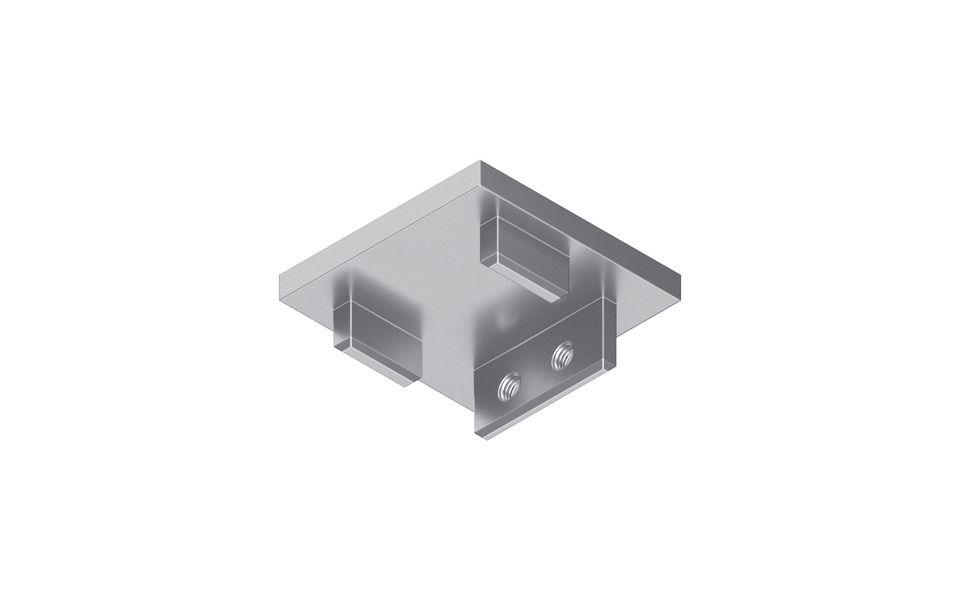 Glassline Französischer Balkon Absturzsicherung BALMERO Abschlussdeckel ohne Glasüberstand