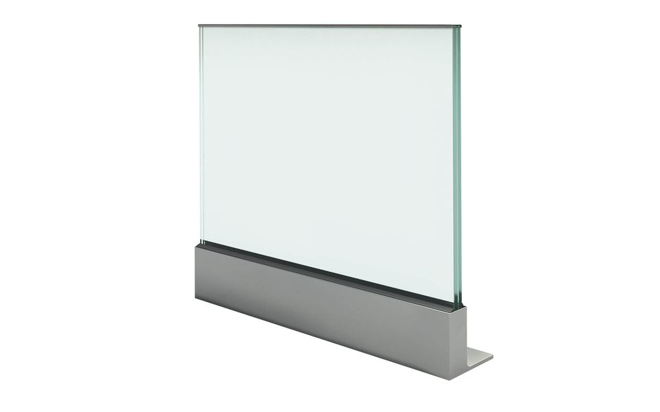 Glass railing Balardo core from Glassline - profile