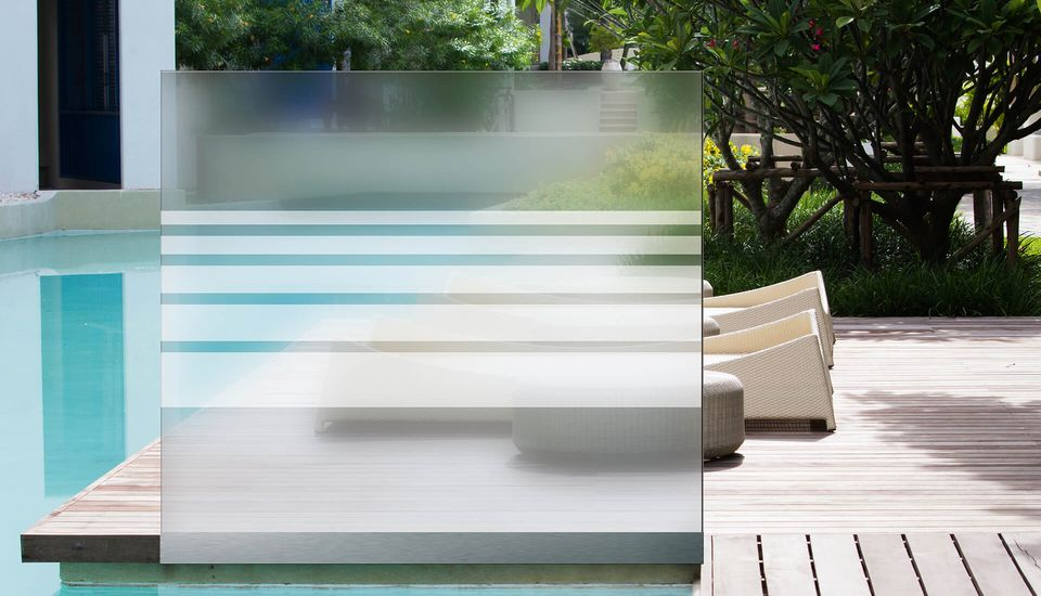 Wind- en privacyscherm Davento van Glassline