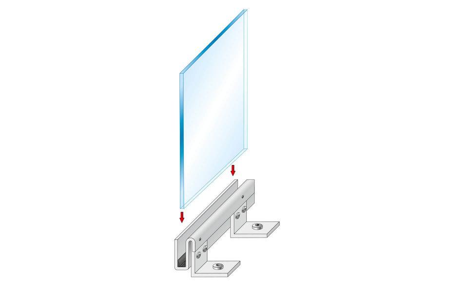 Montageanleitung Glasgeländer Balardo Steel Step 4
