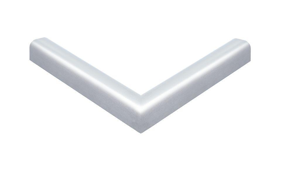 90° Ecke horizontal, Außenmaß 200 x 200 mm