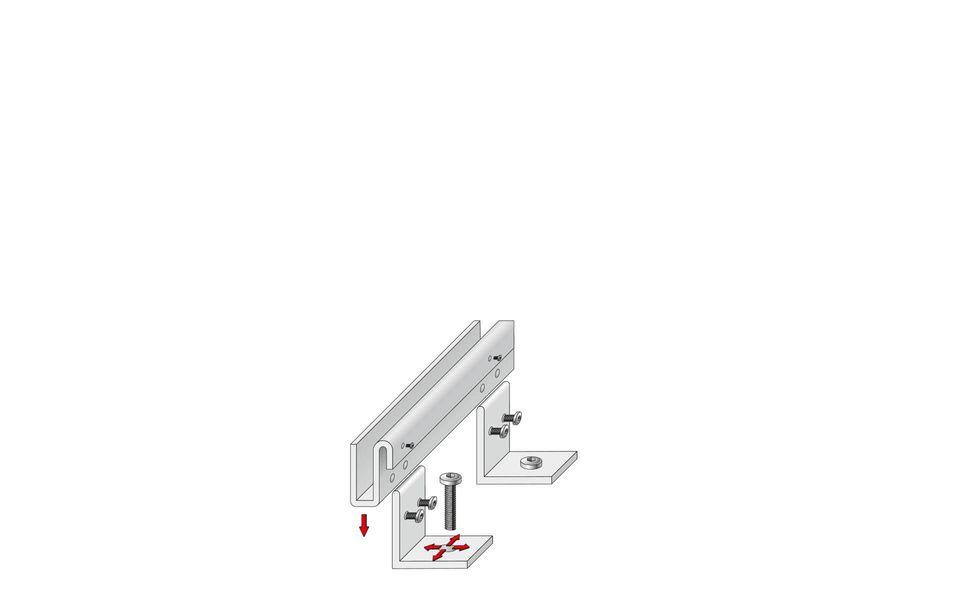 Montageanleitung Glasgeländer Balardo Steel Step1