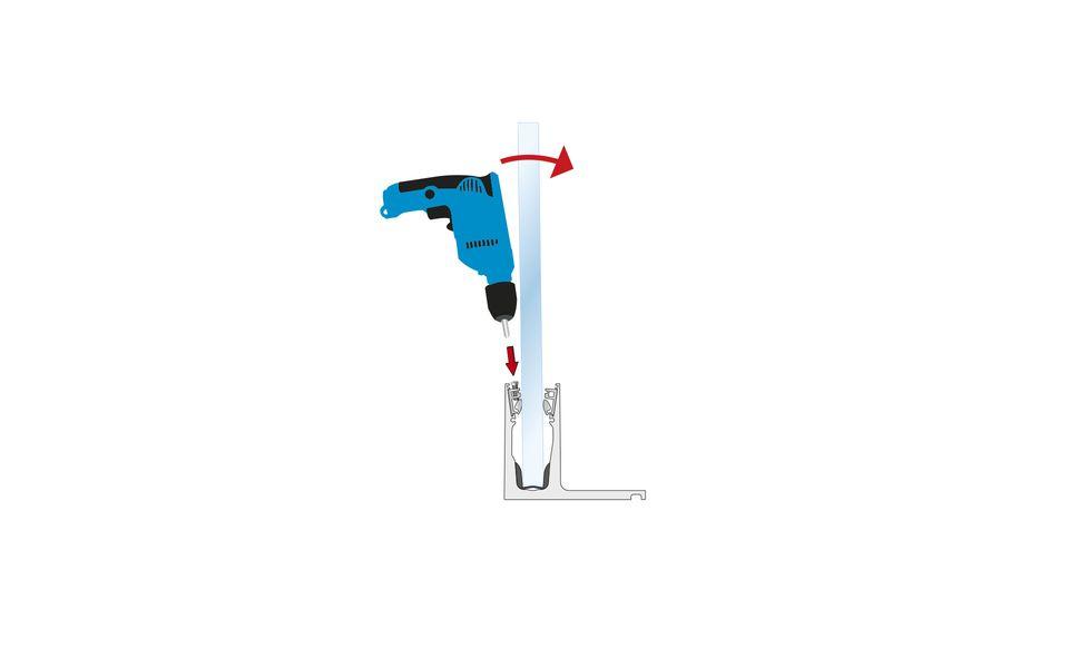 Glassline Ganzglasgeländer BALARDO hybrid Montage Step 7