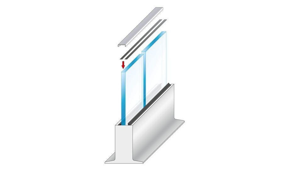Wind- und Sichtschutz Davento von Glassline - Montage-Step 9