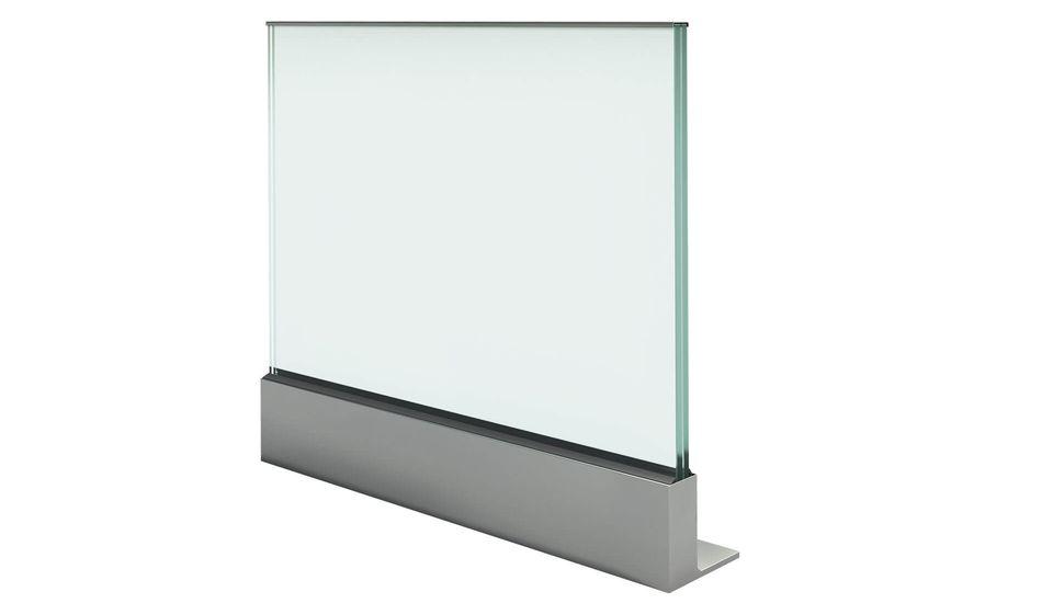 Glasgeländer Balardo alu - Aluminium Profil