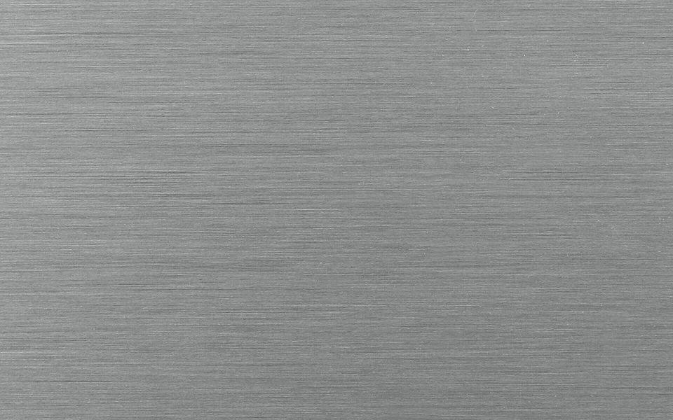 Wind- und Sichtschutz Davento von Glassline - Oberfläche Edelstahleffekt Premium