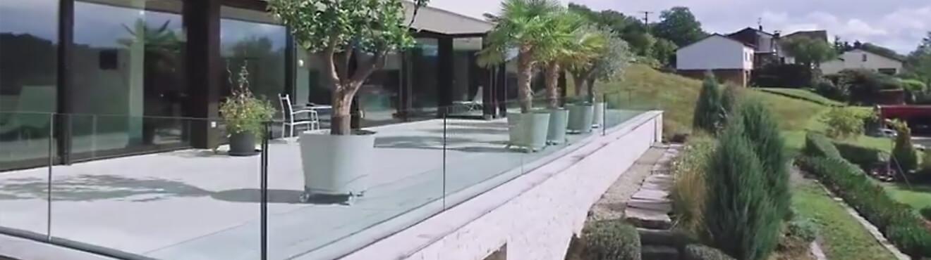 GLASSLINE: Glasgeländer, Glasvordächer, Fassadenverglasung ...